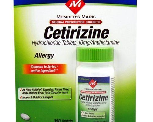 Thuốc Cetirizine – kháng sinh chống dị ứng