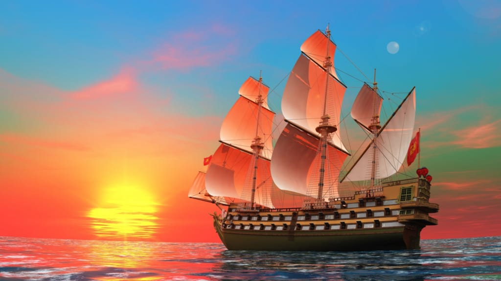 vẽ tranh đề tài phong cảnh biển