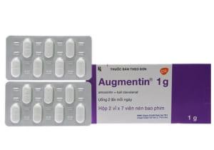 Liều lượng sử dụng thuốc Augmentin 1g
