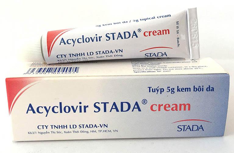 Thuốc Acyclovir bôi ngoài da điều trị bệnh gì và bao nhiêu tiền?
