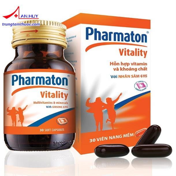 Tác dụng và giá thuốc Pharmaton lọ 30 viên hiện nay?