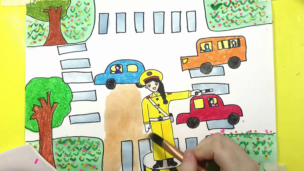 Những bức vẽ tranh đề tài ước mơ của em độc đáo